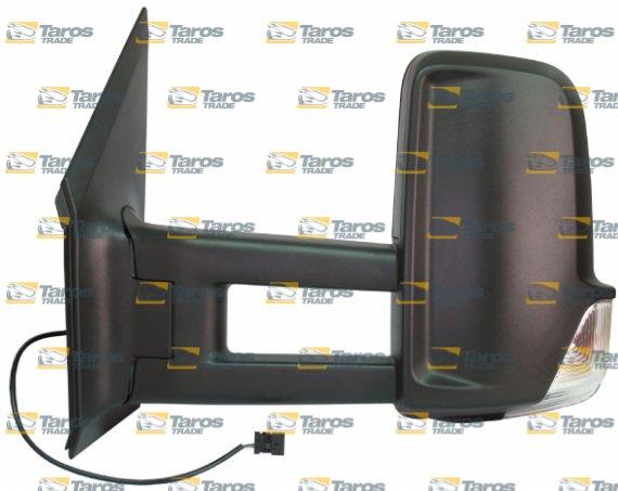 Retrovisor de puerta el ctrico long calefactable con indicator intermitente para mercedes - Espejo retrovisor mercedes sprinter ...