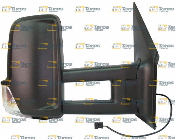 Retrovisor de puerta el ctrico largo calefactable con indicator intermitente para mercedes - Espejo retrovisor mercedes sprinter ...
