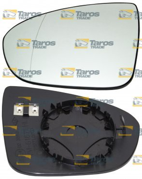 cristal de retrovisor calefactable para opel meriva 2010 6 lado del conductor. Black Bedroom Furniture Sets. Home Design Ideas