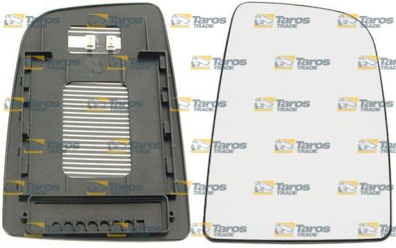 Cristal de retrovisor de puerta calefactable superior con fijaci n cuadrada para mercedes - Espejo retrovisor mercedes sprinter ...
