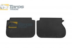 ALFOMBRILLAS DE GOMA PETEX NEGRAS 2 PCS TRASERAS VESRION CON 5 ASIENTOS PARA VOLKSWAGEN CADDY 2004-2010